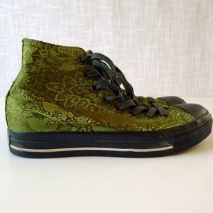Chucks High Tops Funkita Feather Green Quilted